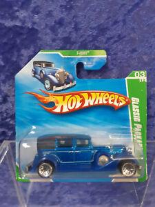 Hot Wheels 2009 MOC Treasure Hunt Classic Packard 03/12 Short Card