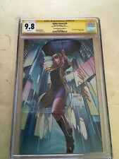 Spider Gwen 24 d signed by J Scott Campbell Cgc 9.8