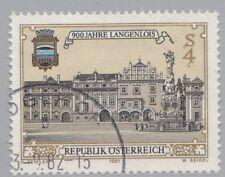 Österreich Austria 1708 900 Jahre Stadt Langenlois, Hauptplatz, Wappen  1982 °