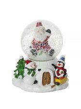 Musical  Christmas Xmas Decorative Snow Globe Home Decoration Present Gift