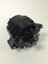 """10SI Delco GM Black Painted Alternator With 5/8"""" Pulley 12 Volt Negative Ground"""