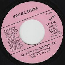 O.K. JAZZ * 70's CONGO ZAIRE SOUKOUSS AFRO RUMBA 45 * Listen!