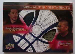 Marvel Doctor Strange Wong Dual Memorabilia Costume Card Vishanti's Vestments