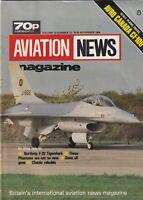 Aviation News Mag Northrop F-20 Tigershark November 1984 092619nonr