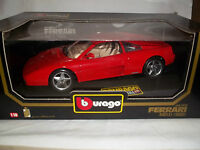 Burago 3039 Ferrari 348tb 1989 Red 1/18 Mint & Boxed (Made in Italy)