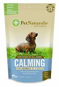 Pet Naturals of Vermont - Calming for Dogs, Natural Behavior Support for Stress