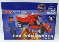 Fischertechnik Basic - Fire Commander 500877 - NEU NEW