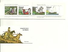 Madeira Booklet sc#100a (1984) Typical Transportation 1st Group MNH** (T)