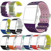 New Ersatz Sport Silikon Armband Uhrenarmband Band Strap für Fitbit Ionic Watch
