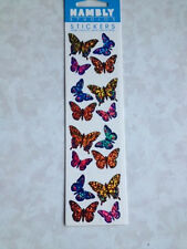 HAMBLY STUDIOS STICKERS SHIMMERS BUTTERFLIES PRISMATIC BUTTERFLY GLITTERS COLORS