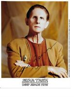 Star Trek DS9 Autographed Lot of 6 In Person Signed Photos Hand Signed Rare COA