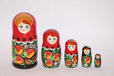 Russische Matroschka Holzpuppe 5-teilig 15,5 cm zur Auswahl siehe Bilder