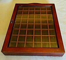 A Glazed Wooden Thimble Display Holder Racks or Vintage Small Collectable