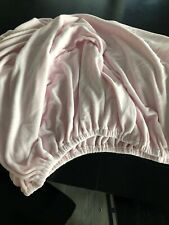 Pottery Barn Kids Full Pink Chamois Fitted Sheet
