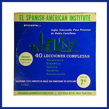 El Spanish-American Institute Presenta40 Lecciones Completas De Habla Castellana
