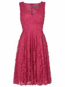 Worn Twice Phase Eight Avalina Pink Fit & Flare Petticoat Dress UK 12 EU 40 US 8