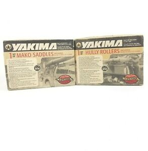 Yakima Mako Saddles #04037 & Hully Rollers #04035 New Complete