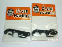 Kobe Handle Vintage BMX Brake Lever Blades Dia-Compe? Black PAIR Plastic Dyno GT
