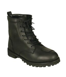 Tuff Gear Motorcycle Cruiser Touring Waterproof Leather Boots