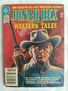 BLUE RIBBON DIGEST JONAH HEX AND OTHER WESTERN TALES #1 OCTOBER 1979 HIGH GRADE