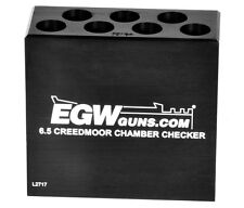 EGW 6.5 Creedmoor 7-Hole Chamber Checker Case Gauge