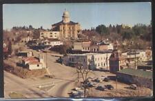 Postcard Auburn California/Ca Local Town Area Bird's Eye Aerial view 1940's