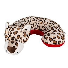 Animal Planet Kids Neck Support Pillow, Leopard, Toddler Car Seat Pillow, Baby