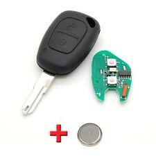 Cle Complète télécommande pour renault master kangoo trafic Opel Vivaro Fiat Etc