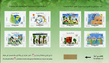 Morocco 2018 MNH Childrens Drawings 8v S/A Booklet Nature Horses Trees Stamps