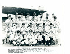 1948 ROCHESTER RED WINGS TEAM 8X10 PHOTO  BASEBALL NEW YORK