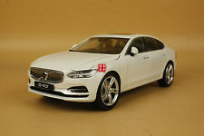 1:18 Volvo S90 model white color + gift
