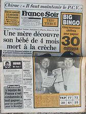 France Soir n°12779 (13 sept 1985) Sida - Villemin - Hopital St Antoine- S Lama