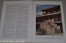 1938 magazine articles about NEW MEXICO, color photos, history, people etc