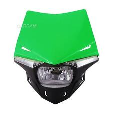 Green UFO Enduro Headlight Fairing Kit Dirtbike Scooter Streetfighter Universal