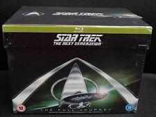 Star Trek The Next Generation Blu-Ray Picard Complete Series Season 1-7, New
