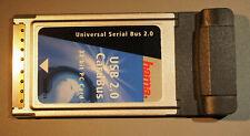 2 Port PCMCIA USB 2.0 Karte Cardbus  Steckkarte