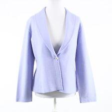 Lavender purple wool blend EILEEN FISHER long sleeve jacket S