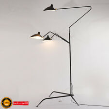 Aluminum Black Arms LED Floor Lamp Standing Lamps Office Reproduction Lighting
