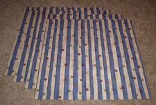 Patriotic Scrapbook Single Sided 12x12 Paper Lot of Four....