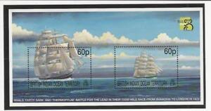 British Indian Ocean, Postage Stamp, #217 Mint NH, 1999 Ship, JFZ
