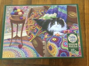Comfy Cat by Cobble Hill 1000 pce Jigsaw Puzzle