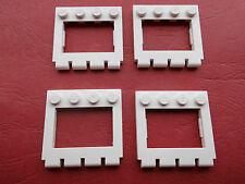 Lego (2349) 4 Scharniere/Autodächer 4x4, in weiß aus 6395, 6346, 6543, 6540
