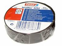 TESA Isolierband PVC 4252 15mm x 10m Klebeband Iso Tape Isoband Band MwSt.