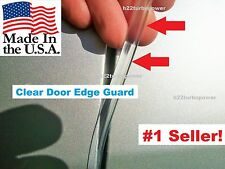 car truck auto Protectors Trim 4 Door Kit CLEAR DOOR EDGE GUARDS fits: Ford