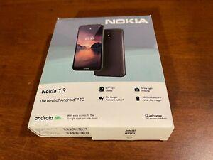 "Unlocked Nokia 1.3 TA-1207 5.71"" IPS HD+ 16GB 8MP 4G LTE WiFi GPS GSM Charcoal"