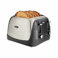 Oster 4-Slice Brushed Stainless Steel Toaster
