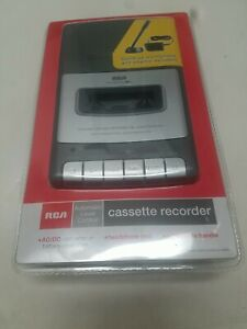 RCA RP3504 Cassette Recorder w/ Stand Up Microphone & Power Adapter New Sealed