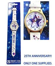 More details for disneyland paris 25th anniversary ladies wrist watch disney rare 25 birthday