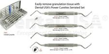 Dental USA Power Curettes Serrated Kit Mod 4126 4 Pack