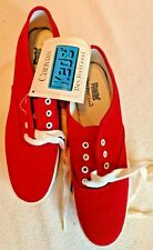 Keds ~ Champions ~ Woman's Sneakers 6 1/2 Red Wk313S ~ Brand New w/Tag ~Vtg 1991